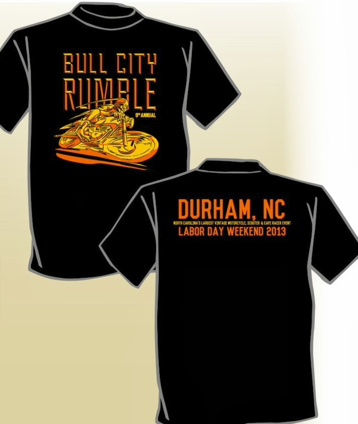 2013 Bull City Rumble Shirt