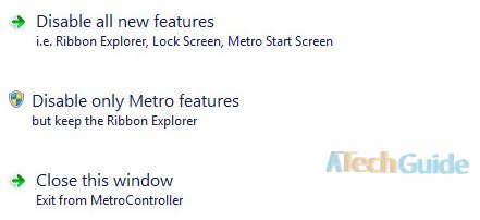 disable metro UI windows 8