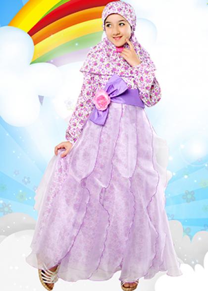 Kreasi Jilbab Anak Untuk Fashion Show