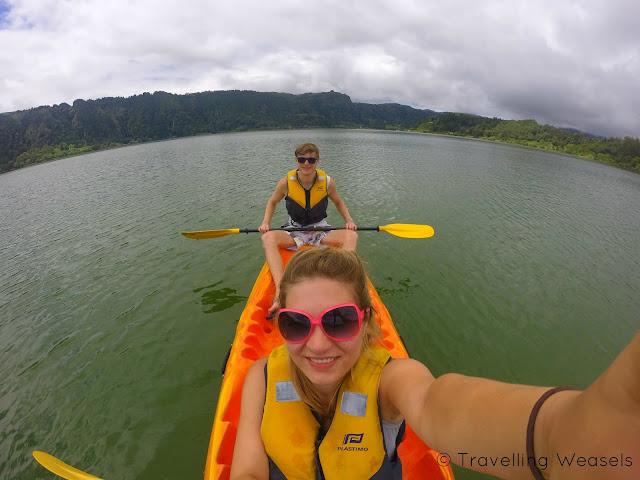 furnas kayaking