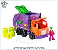 Imaginext DC Gotham City Joker & Garbage Truck Toys R Us