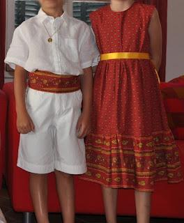 habits enfants d'honneur