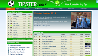 TipsterTable.com -  Free Sports Betting Tips