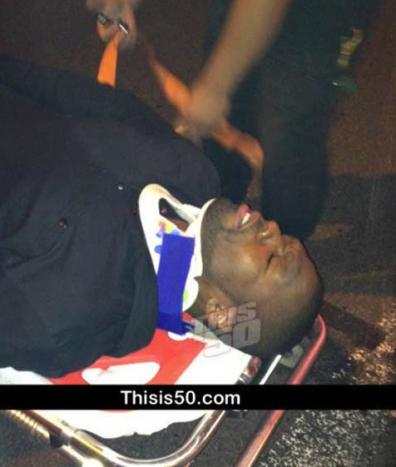 50 CENT INJURED in car crash