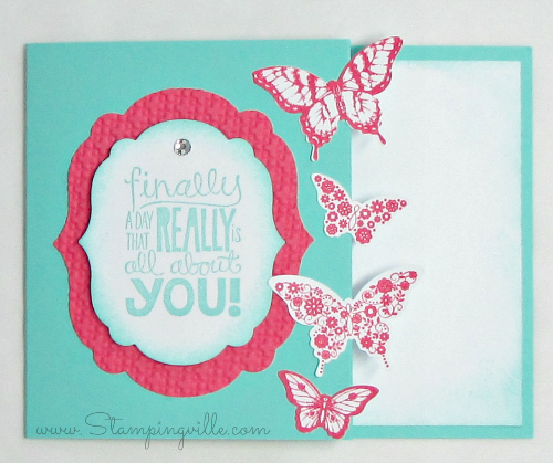 Stampin' Up! All About You Gift Card Holder