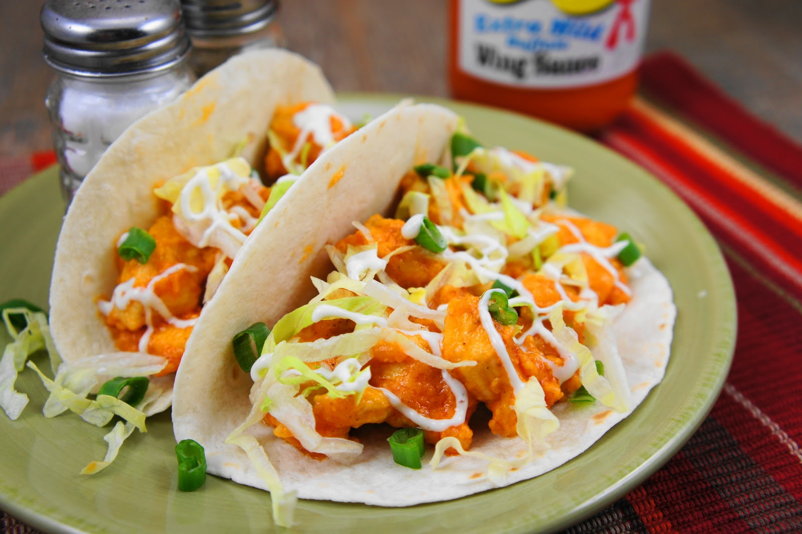 The Kitchen Life of a Navy Wife: Buffalo Chicken Tacos