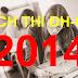 Lịch thi tuyển sinh đại học cao đẳng năm 2014 khối A, B, C, D
