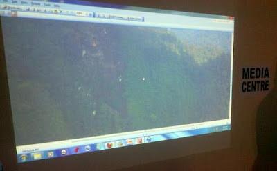Foto Lokasi Jatuhnya Pesawat Sukhoi Di Gunung Salak