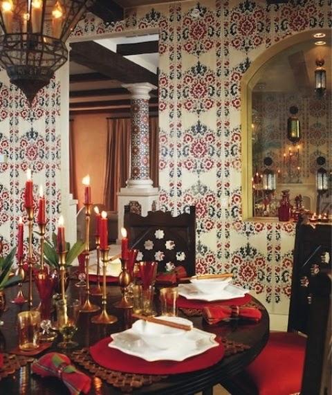 تصميمات رائعه لغرف المعيشه المغربيه  Exquisite-moroccan-dining-room-designs-15