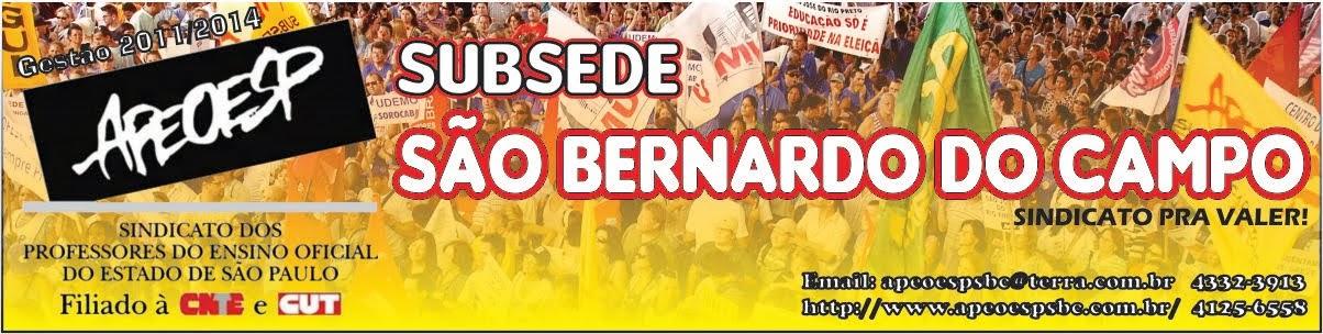 APEOESP subsede de São Bernardo do Campo