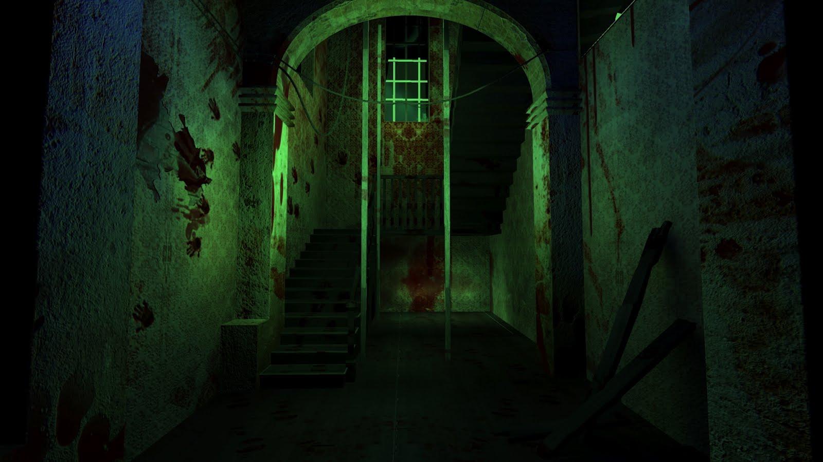 Ranran 39 s rhapsody for Haunted house hallway ideas