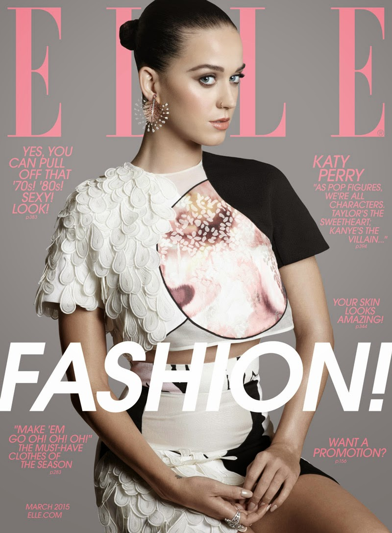 Katy Perry by Michael Thompson for Elle US