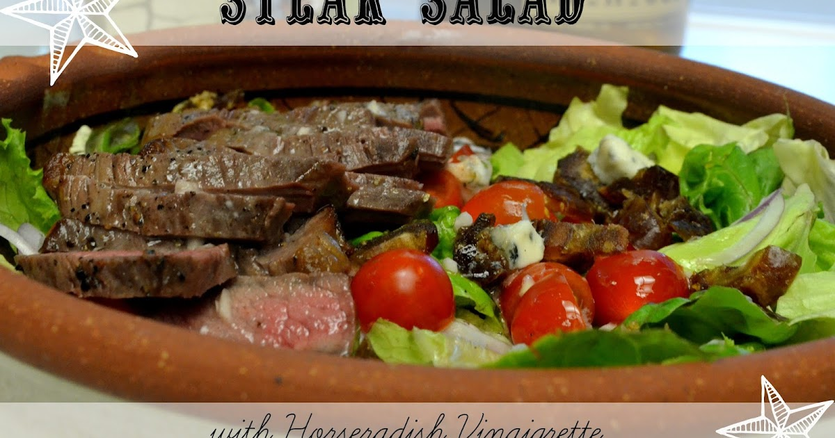 The Cyclist's Wife: Steak Salad with Horseradish Vinaigrette