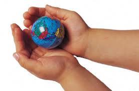 world in children's hands