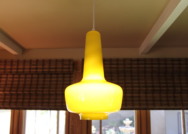 mid-century modern lighting remodel