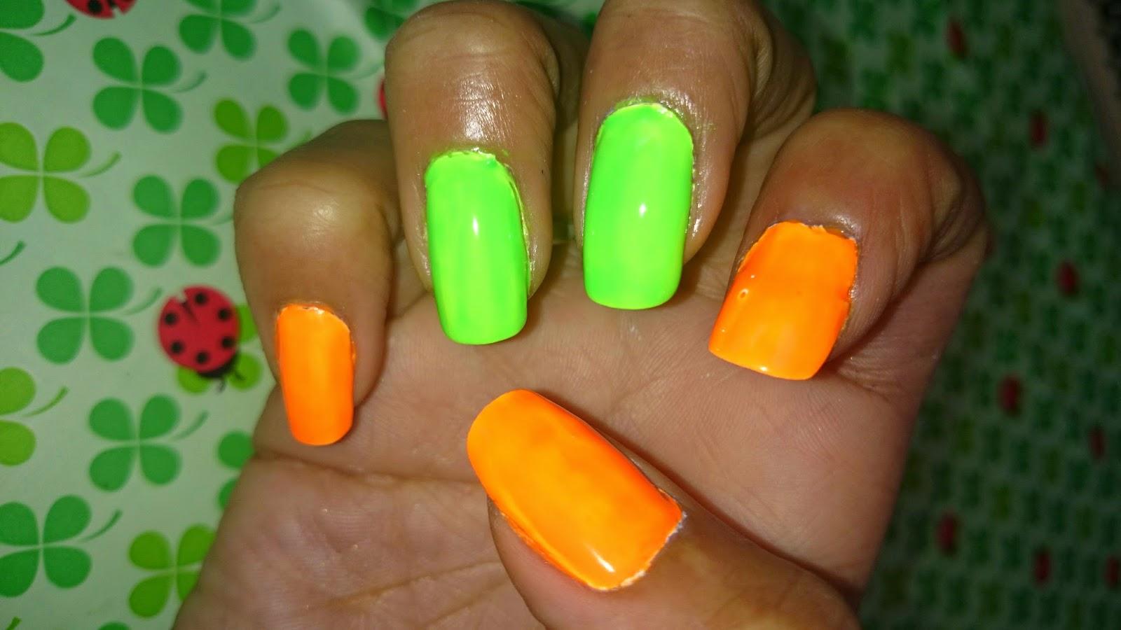 Bonito Naranja Color De Las Uñas Imagen - Ideas de Pintar de Uñas ...