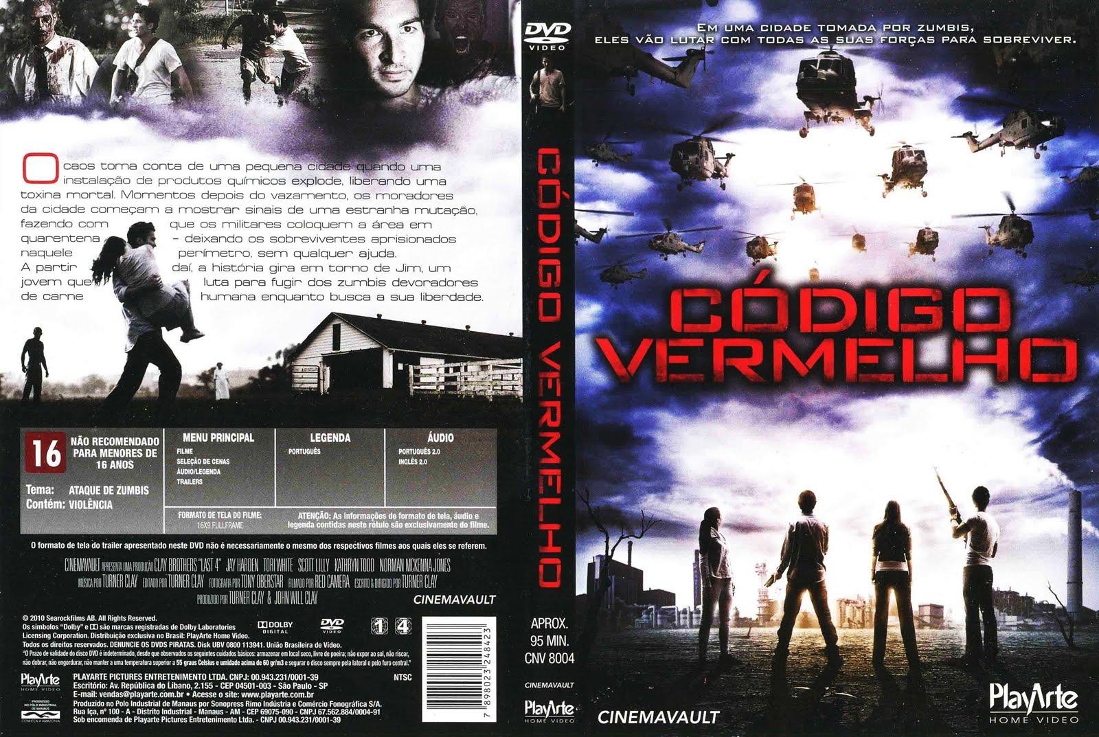 Código Vermelho DVD Capa