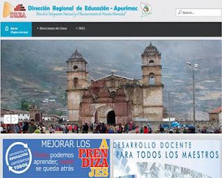 Resultados DRE APURIMAC Reubicación Docente 2014 10 de Octubre