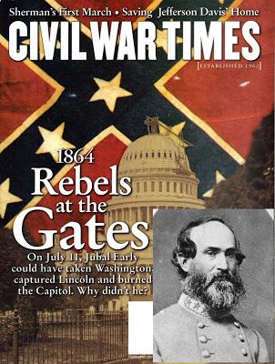 Ο στρατός των Νοτίων ξεκινάει να καταλάβει την Ουάσιγκτον (30 Ιουνίου 1864)