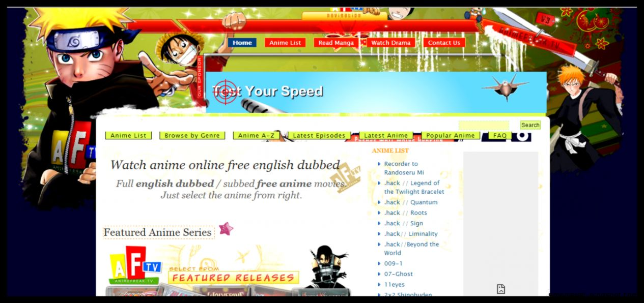 Watch Anime Online Download Top Sites Of