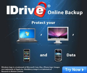 IDrive Remote Data Backup Software tips