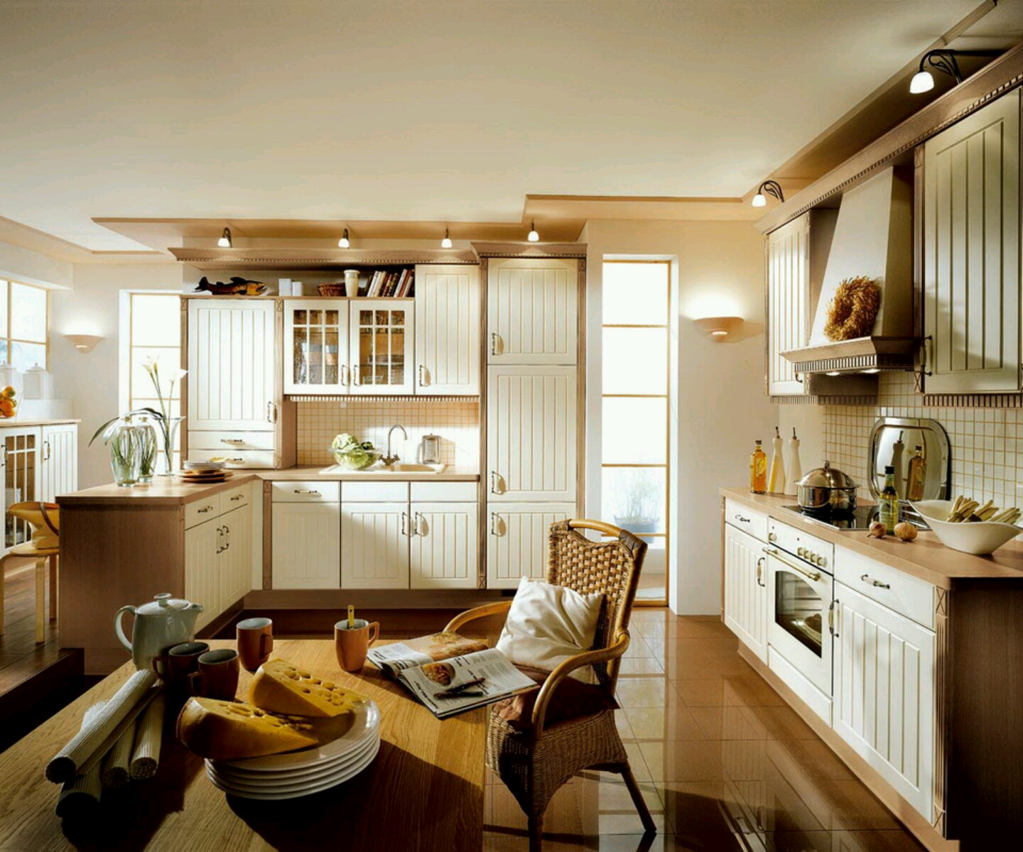 Luxury kitchen, modern kitchen cabinets designs ...