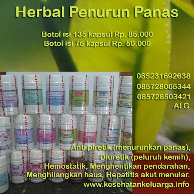 Herbal penurun panas 085231692638 atau 085728065344 atau 085728503421  ALG keluargasehat