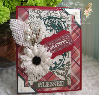 fall grateful card front