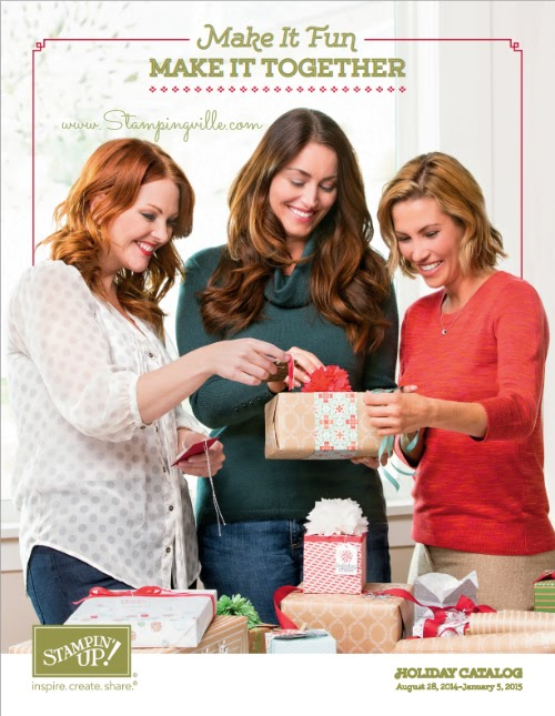 Stampin' Up! 2014 Holiday Catalog Cover