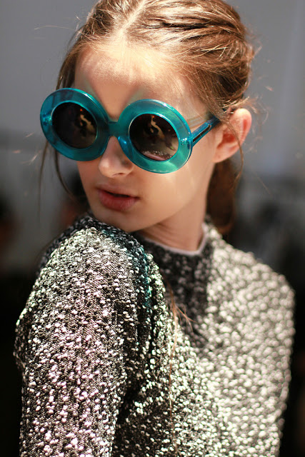 Karen Walker Backstage by Cool Chic Style Fashion