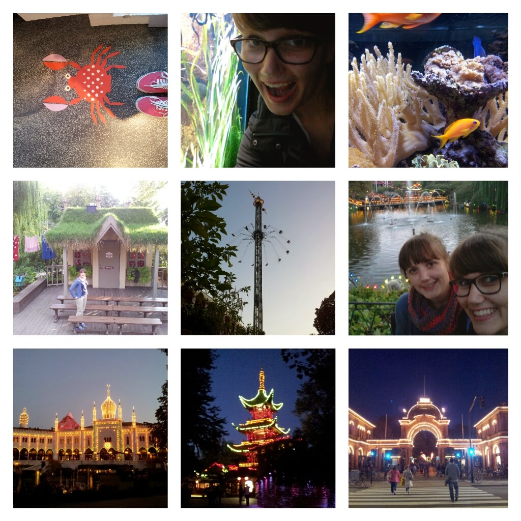Kopenhagen - Collage Tag 4: Tivoli