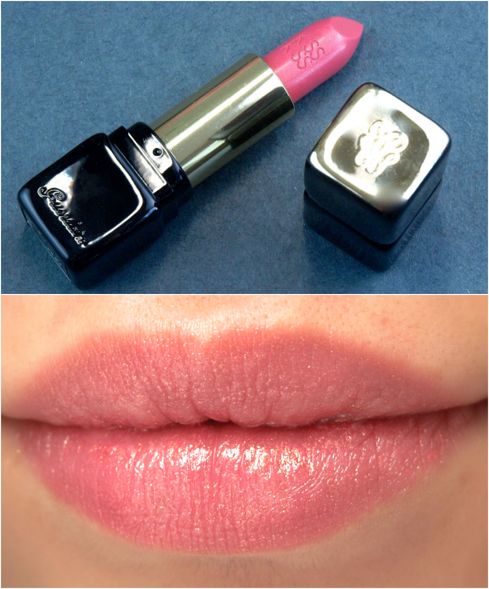 Guerlain KissKiss Shaping Cream Lip Color: Review and Swatches Baby Rose