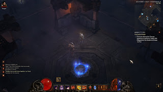 Demon Hunter at Bastion's Keep in Diablo III