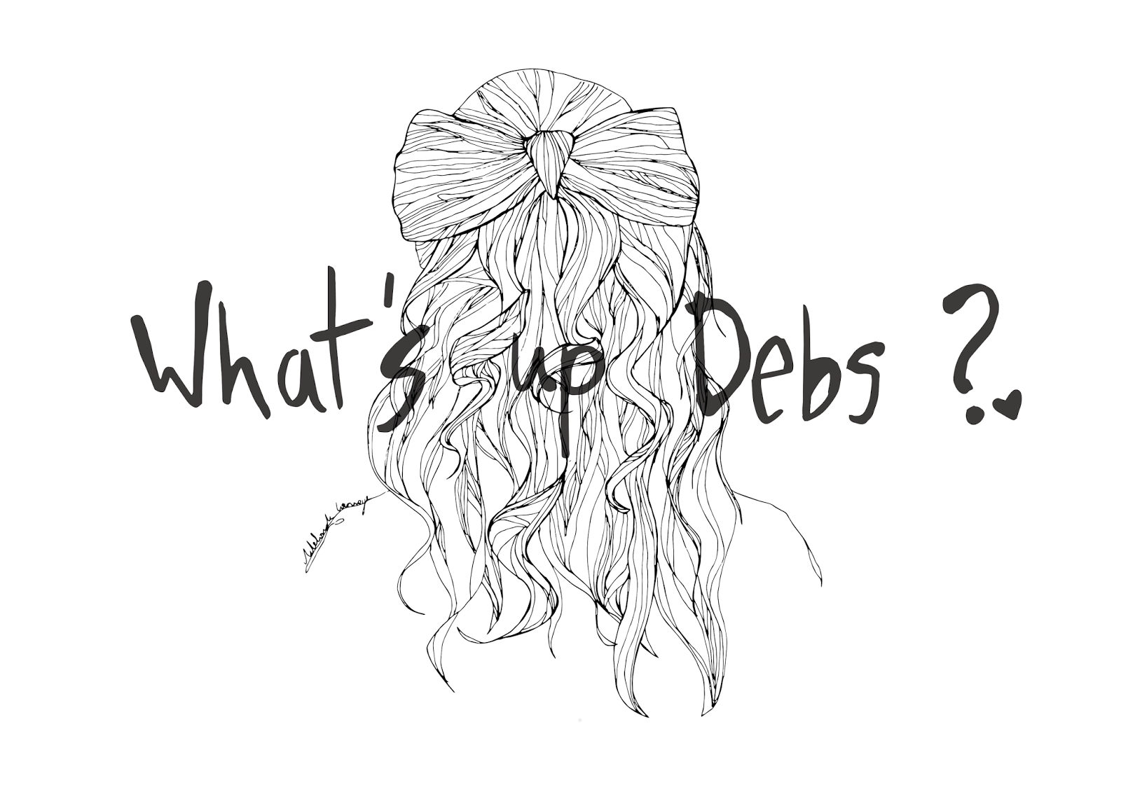 dessin design banner whats up debs whatsupdebs