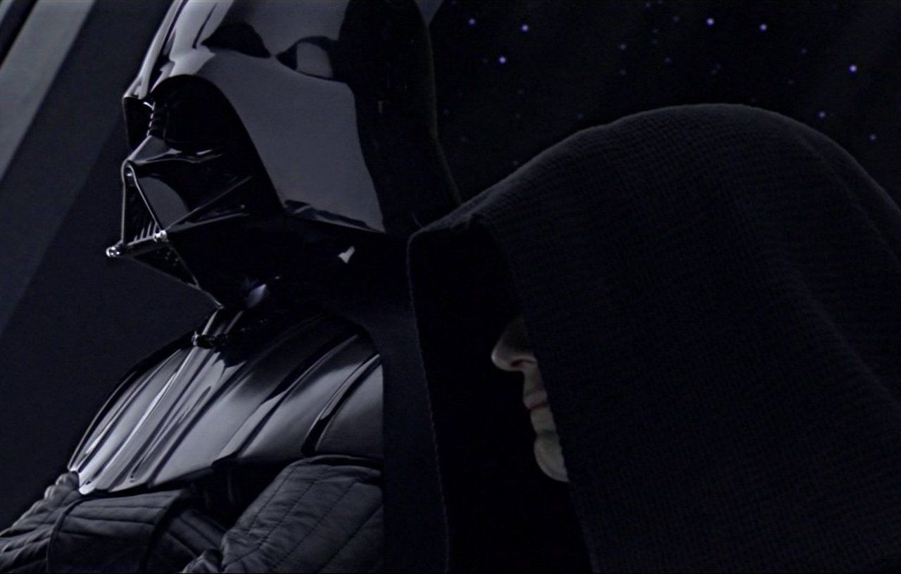 Darth Vader and the Emperor