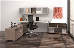 e5 Office Desk Typical by Mayline