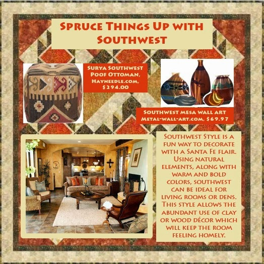 Spruce Things Up with Southwest - Holly Volpe Interior Designs