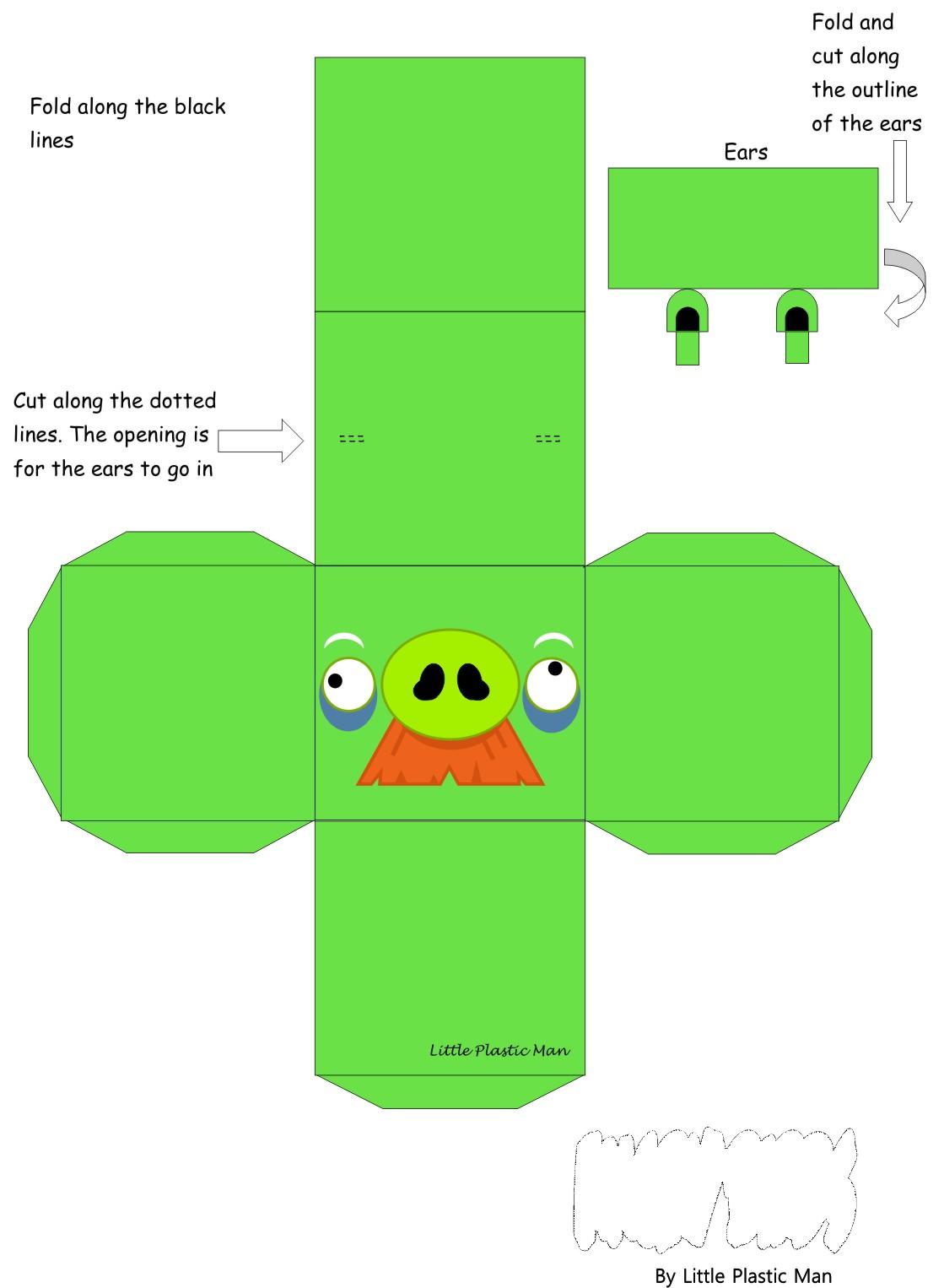 Angry Birds Cajitas Con Molde