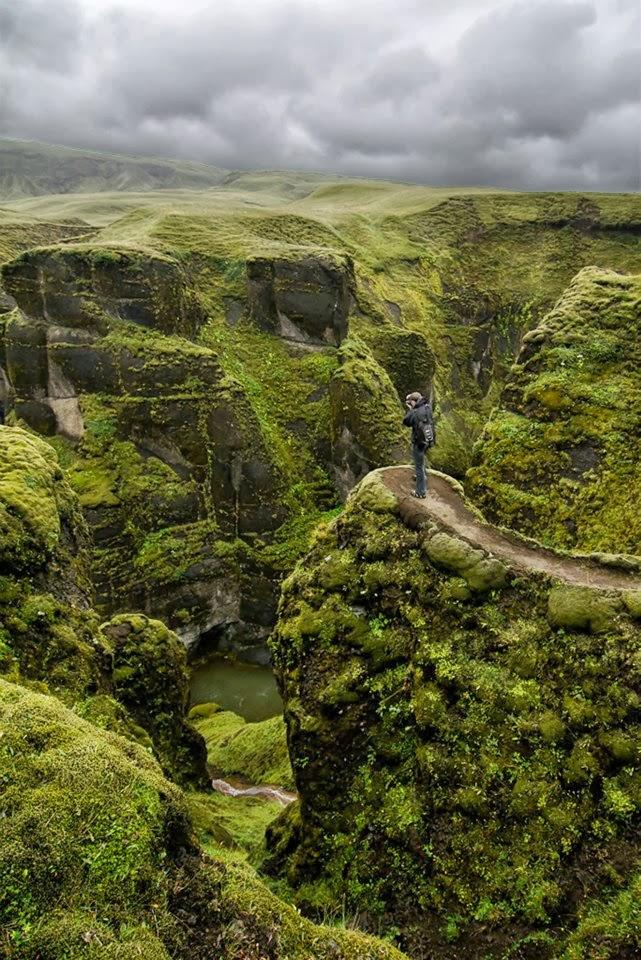 Fjaðrárgljúfur, Iceland: