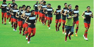 Daftar Nama Skuad Pemain Timnas INDONESIA vs ARAB SAUDI 2013 (Pra Piala Asia 2015)