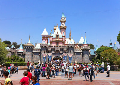 Disneyland castle Sleeping Beauty landmark Fantasyland
