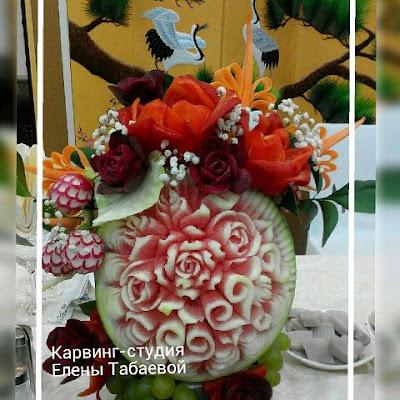 карвинг фруктов сахалин