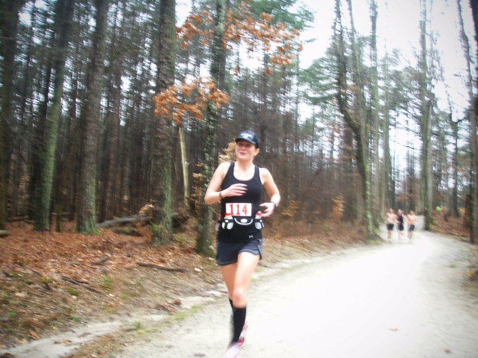 Not Sure What Mile This Was But Likely Early In The Race Because I Am Smiling Photo Borrowed From Shannon