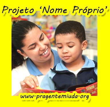 projeto de educação infantil para trabalhar nome próprio
