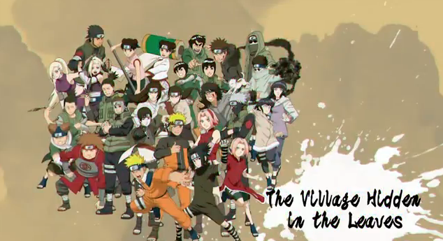 Naruto Shippuden Ultimate Ninja Storm Generations Playable Characters Hidden Leaf Village