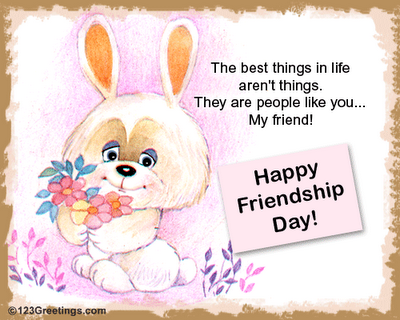 Happy friendshipday greeting cards cini clips