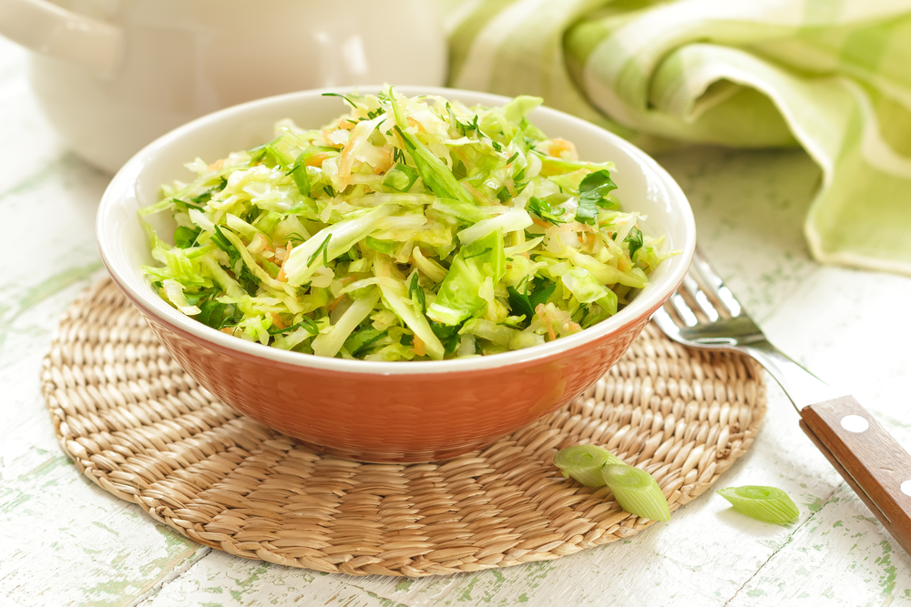 Капустный салат с