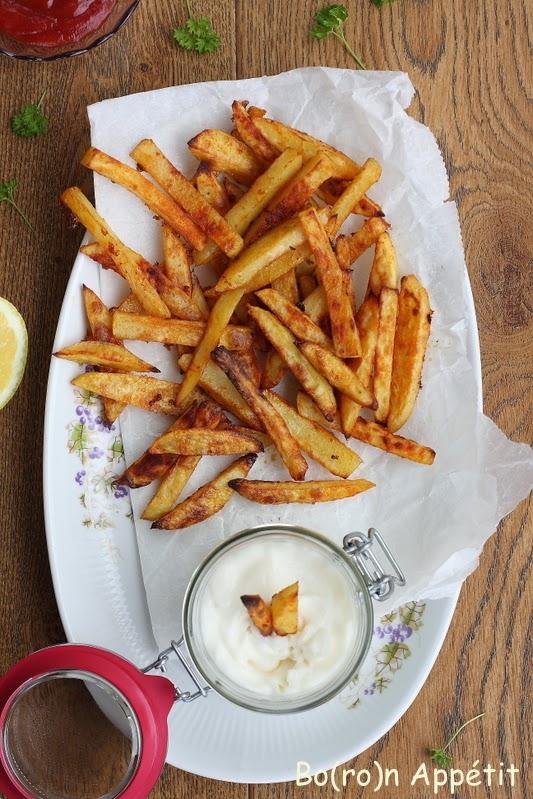 Jak zrobic domowe frytki w piekarniku