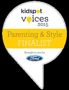 Kidspot voices finalist