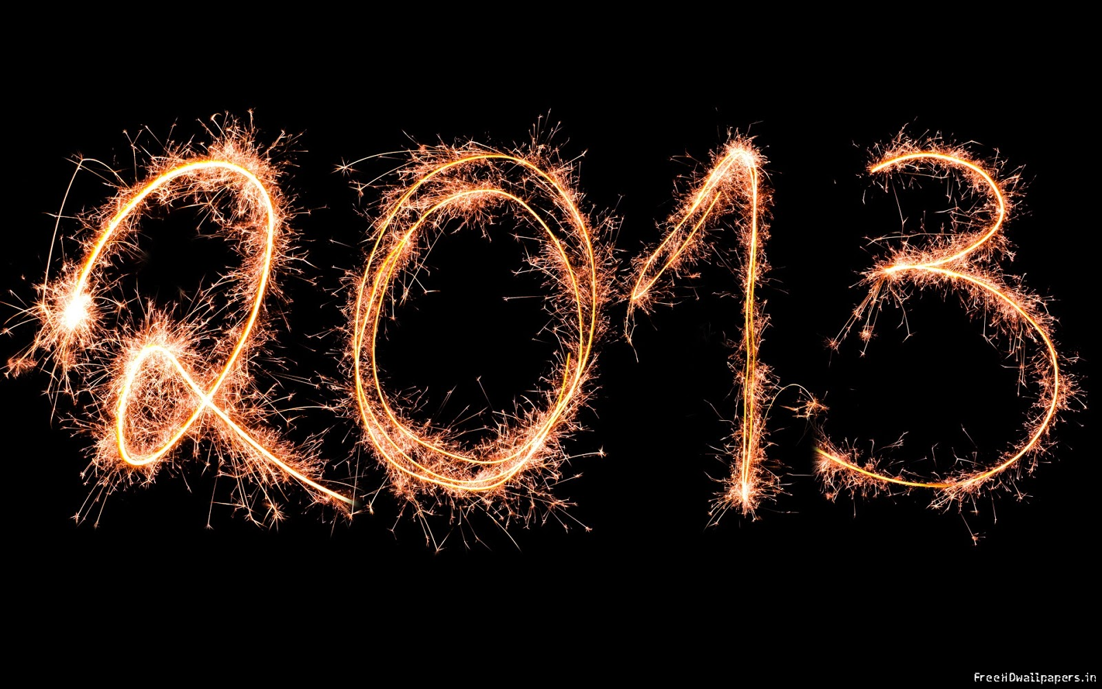 wallpaper world: happy new year 2013